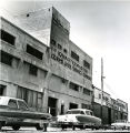 A building used for storing U.S.  Army Quartermaster supplies during World War II.