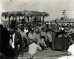 Governor Sidney P. Osborn at the Luke Field Air Force Base dedication Ceremony.