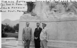 Photograph of (left to right) George Dern, Jacob Hamblin and Governor George W. P. Hunt at the...