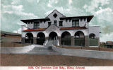 Photograph/colorized postcard of the Old Dominion Club in Globe (Ariz.)