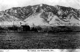 Photograph of a ranch near Mount Graham in Solomonville (Ariz.)