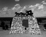 Photograph of a monument to the victims of the Wickenburg Massacre in Wickenburg (Ariz.)