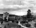 Photograph of Gammage Library at Northern Arizona Normal School, now Northern Arizona University,...