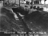 Photograph of Civil Works Administration construction work on Yuma Road in Tolleson (Ariz.)