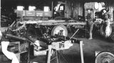 Photograph of the machine shop at the Arizona Highway Department in Phoenix (Ariz.)