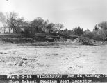 Photograph of a Civil Works administration construction project at Wickenburg High School in...