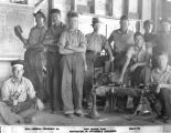 Photograph of Emergency Relief Administration mechanics training at Fort Mohave (Ariz.)
