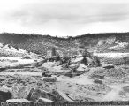 Photograph of excavation at an Anasazi archaeological site by the Civil Works Administration in...