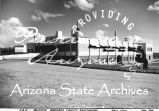 Photograph of the Maricopa County Tubercular Sanitarium, built by the Emergency Relief...