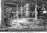 Photograph of an Emergency Relief Administration making kachina dolls in Prescott (Ariz.)