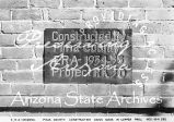 Photograph of a plaque at a Preventorium, a health facility for children, administered by the...