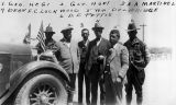 Photograph of Arizona Governor George W.P.  and a delegation visiting Sonora (Mexico)