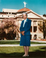 Photograph/portrait/color image of former Arizona Representative Polly Rosenbaum, taken at the...