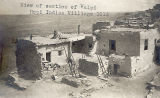 Photograph of the Hopi village at Walpi (Ariz.), taken during a visit by Arizona Governor George...