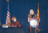 Photograph of GladysAnn Wells, Director of the Arizona Department of Library, Archives &...