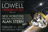 Lowell Observatory Presents: New Horizons Principal Investigator Alan Stern