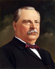 1885 - 1889 and 1893 - 1897 President Grover Cleveland and First Lady Frances Folsom Cleveland