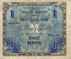 Alllied Military Currency 1 Mark