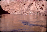 Eiseman and McKenna dories above Hot Nana, mile 14-15, Colorado River, Grand Canyon. Circa 1971....