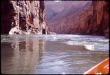 Eiseman expedition at mile 14-15 above Hot Nana, Colorado River, Grand Canyon. Circa 1971-74....