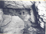 Early photo of Swallet Cave