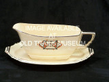 Gravy boat with underplate, not attached