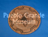 Close coiled basketry plaque (2005.06.4)