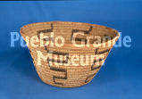 Close coiled cylindrical basketry bowl (PGM:72/Ba13)