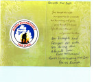 Condolence Card from Burns Interagency Fire Zone