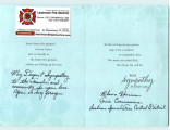 Condolence Card from Lealman Fire District