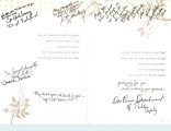Condolence Card from the Des Peres Department of Public Safety