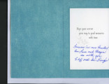 Condolence Card from Cliff and Dee Baughn