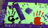Finger Painting Poster
