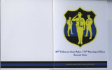 Condolence Card from the 85th Delaware State Police/76th Municipal Police Recruit Class