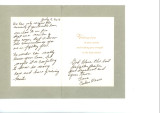Condolence Card from Carlene Mease