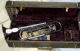 Silver Bugle in Case