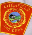 Litchfield New Hampshire Fire Department Patch