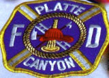 Platte Canyon Fire Department Patch