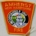 Amherst, New Hampshire Fire Department Patch