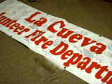 Banner from La Cueva  Volunteer Fire Department