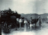 Arrival at Cuprite Mining Camp