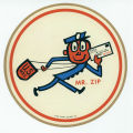 Mr. Zip Sticker