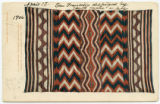Old Navaho bayetta blanket from the Blanket Collection, Albuquerque, N.M.