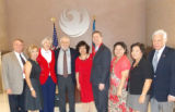 Mayor Greg Stanton and VIPs at Taiwan Exhibit at Phoenix City Hall
