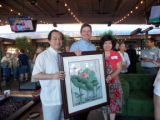Taiwan Master Artist Chris Ho, Phoenix Mayor Greg Stanton and Taipei Sister Cities Chair Lin Ling...