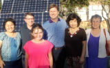 Wen Chyi Chiu, Councilman Gates, Mayor Stanton, Lin Ling Lee, and Dr. Donna Reiner