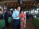 Taipei Sister Cities Chair Lin Ling Lee and Mayor Greg Stanton