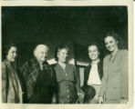 Photograph of Maria Jesus Silva and women