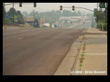 Wildfire:  Rodeo-Chediski 6-23-2002 -- Deserted Main Street