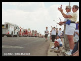 Wildfire:  Rodeo-Chediski 7-4-2002 -- Show Low July 4th Parade